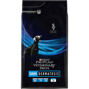 Purina DRM food for dogs with skin problems