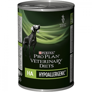 Purina HA wet canned dog food